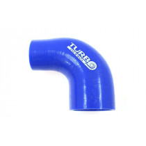 Szilikon szűkítő könyök TurboWorks Kék 90 fok 45-57mm